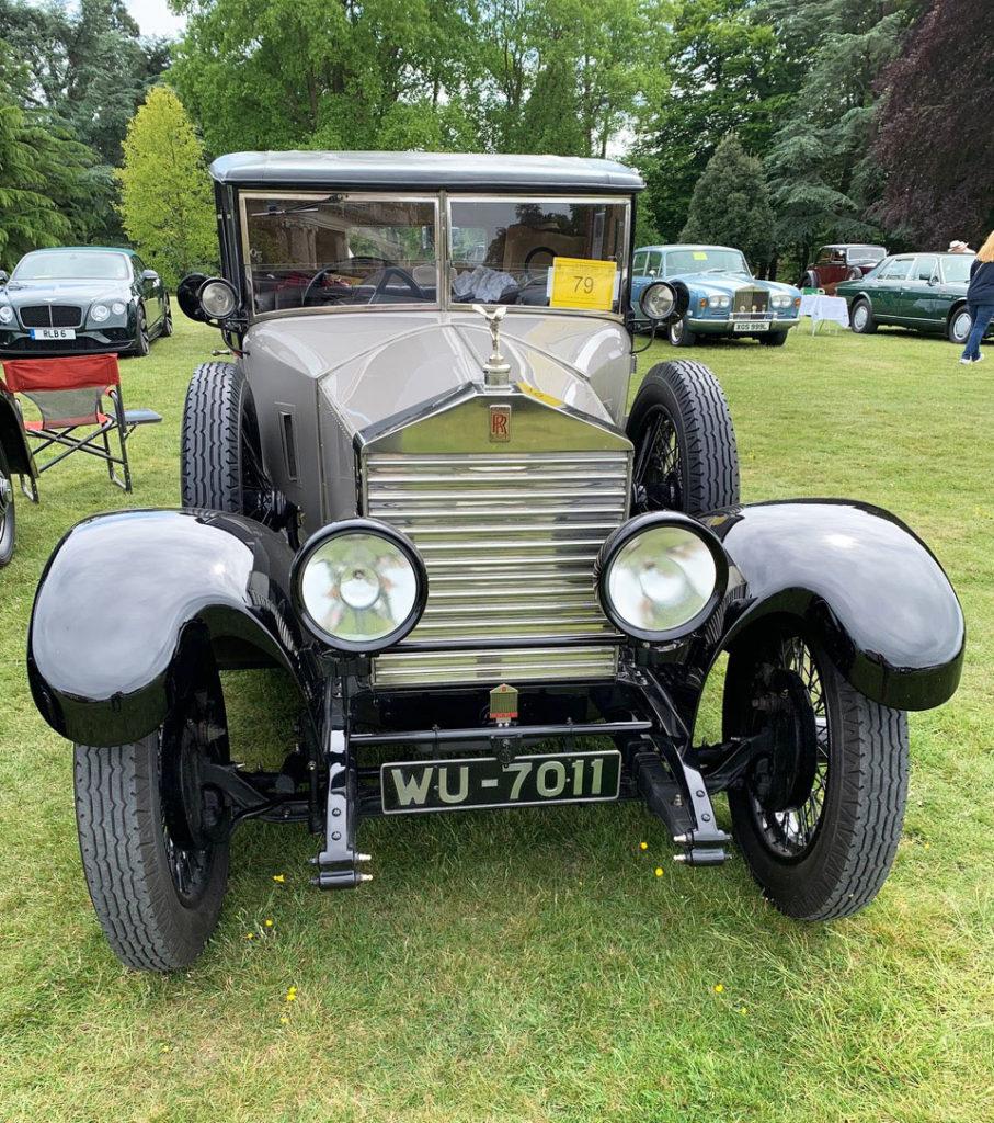 John Ryley's 1926 20hp 3/4 coupé by Park Ward