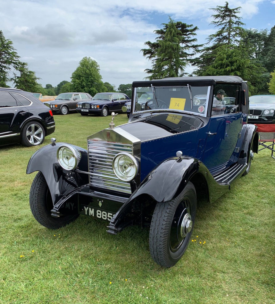 Gary Trinder's 1925 20HP model once owned by architect Sir Edwin Lutyens