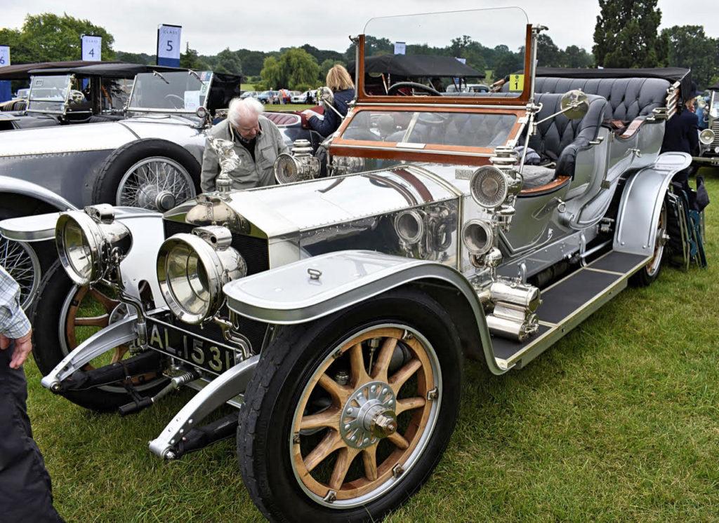 1910 Rolls-Royce 40/50hp Silver Ghost by Gamble of Belfast (photo: Richard Fenner)