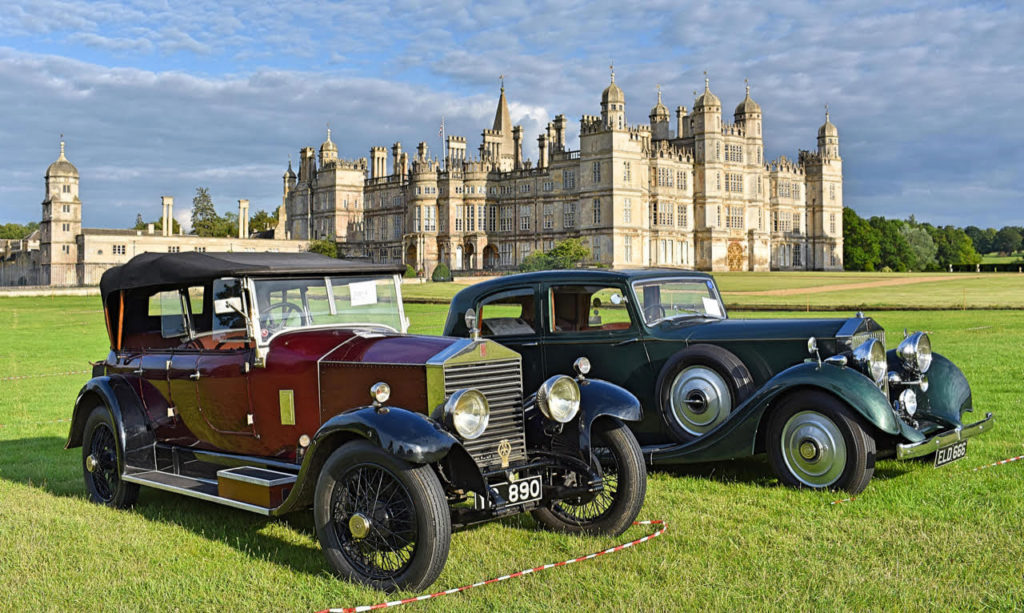 Barker-bodied 1926 20HP tourer with 25/30HP model with Thrupp & Maberly coachwork (photo: Richard Fenner)