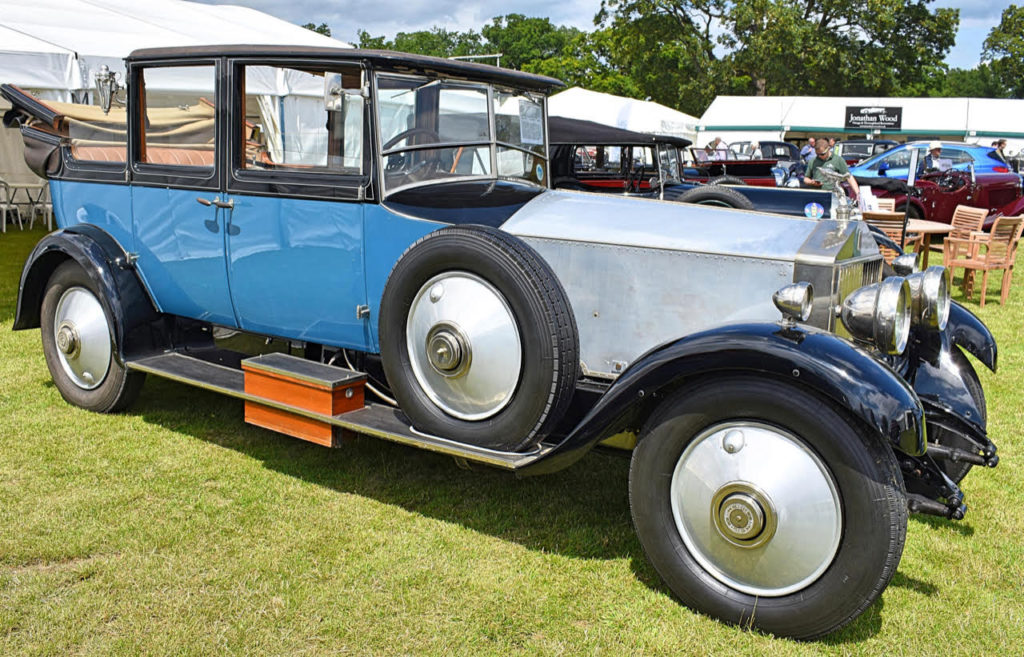 A car to arrive in - a 1928 Phantom 1 landaulette by Park Ward (photo: Richard Fenner)