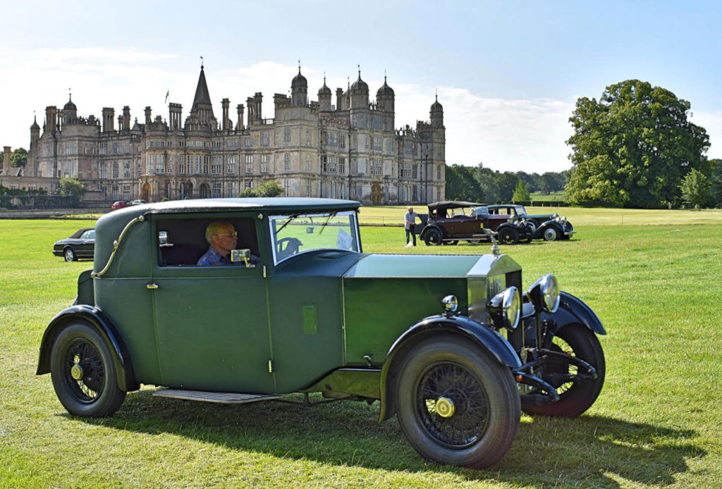 Period Gurney Nutting fabric coupe bodywork on 1930 Rolls-Royce 20/25 (photo: Richard Fenner)