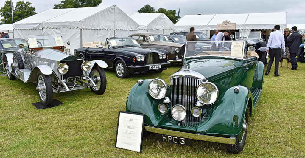 1912 Rolls-Royce Silver Ghost and 1938 VDP-bodied 4 1/4-litre Bentley (photo: Richard Fenner)