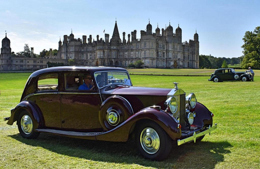 Elegant and rare a 1939 Rolls-Royce Wraith with sleek Park Ward coachwork (photo: Richard Fenner)
