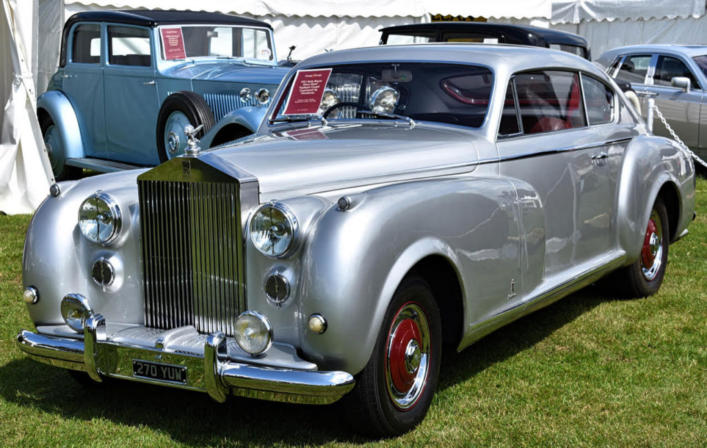 This special-bodied Silver Dawn of 1951 has Italian flair courtesy of Farina (photo: Richard Fenner)