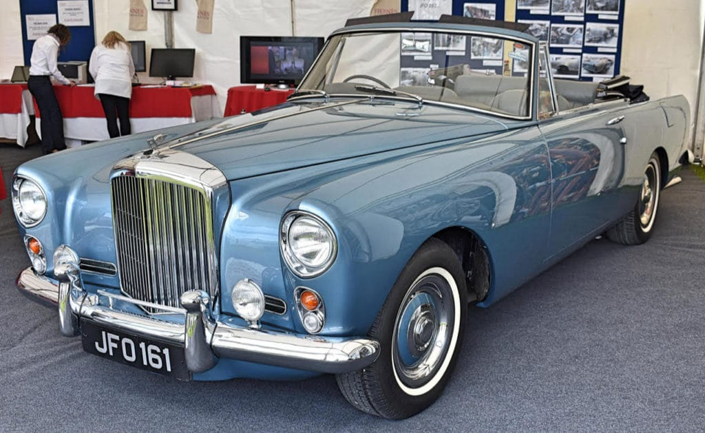 1960 Bentley S2 Continental Drophead Coupe by Park Ward