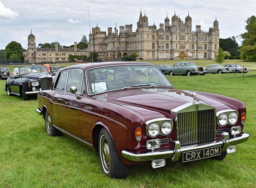 As popular as they are elegant a 1973 Rolls-Royce Corniche FHC (photo: Richard Fenner)