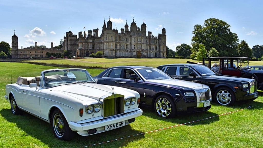 1981 Rolls-Royce Corniche; 2011 Rolls-Royce Ghost & 2007 Rolls-Royce Phantom (photo: Richard Fenner)
