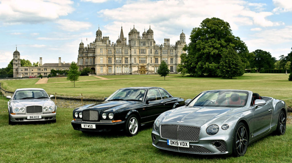 2002 Bentley Continental R Mulliner; 1998 Bentley Continental T; 2019 Bentley Continental GTC (photo: Richard Fenner)