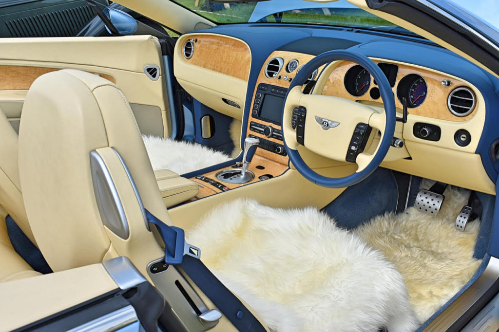 Traditional values with a lighter touch on this 2008 Bentley Continental GTC (photo: Richard Fenner)