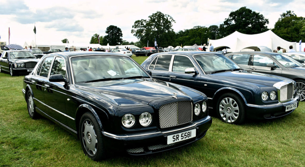 2008 Bentley Arnage R and 2000 model