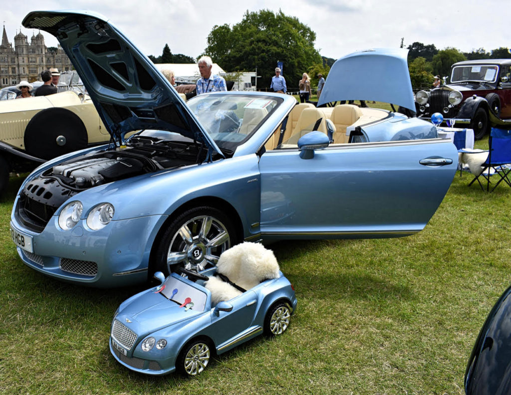 Below, 2008 Bentley Continental GTC in Master's Class - presumably with entrant in Minor's Class (photo: Richard Fenner)