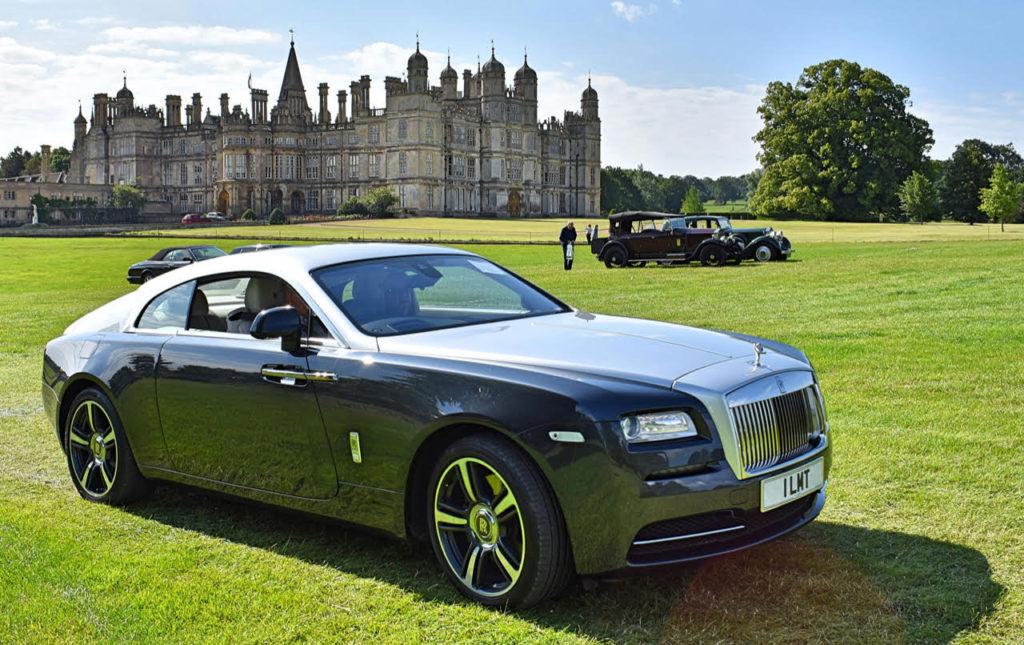 Today's sporting coachwork on a 2013 Rolls-Royce Wraith (photo: Richard Fenner)