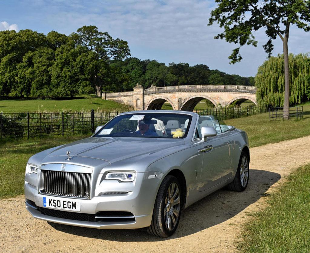 2016 Rolls-Royce Dawn (photo: Richard Fenner)