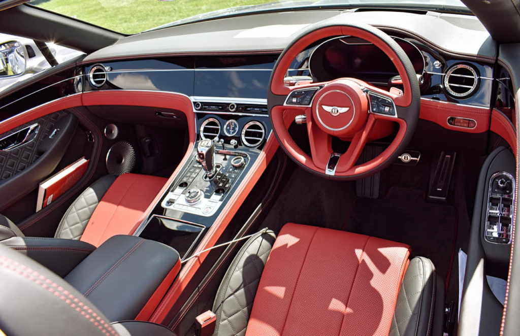 2019 Bentley Continental GTC interior can be as extravert as its owner (photo: Richard Fenner)