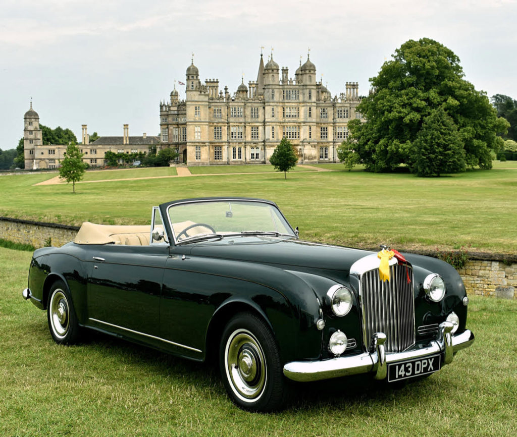 Wonderful anywhere, this 1957 Bentley S1 with Park Ward Drophead Coupe coachwork was judged Best in Show (photo: Richard Fenner)