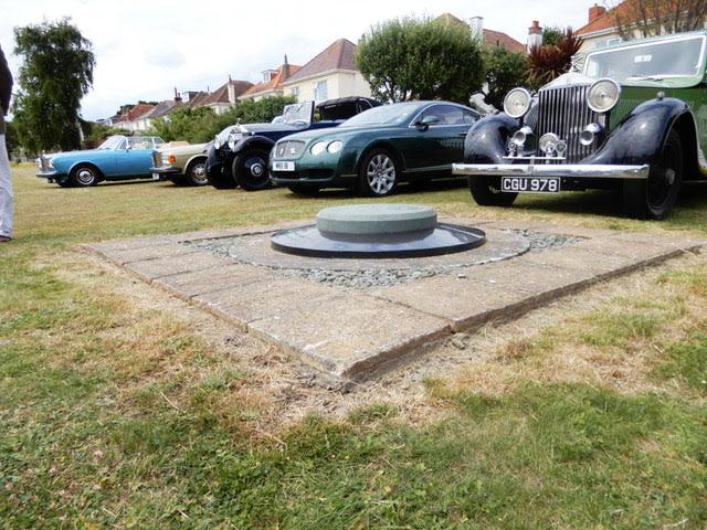 CS Rolls' plaque is hidden from public view - a new memorial is planned at Hengistbury Head