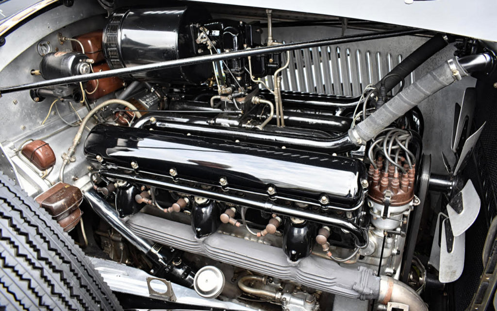 The remarkably compact but complex V12 engine of a 1939 RR Phantom III (photo: Richard Fenner)
