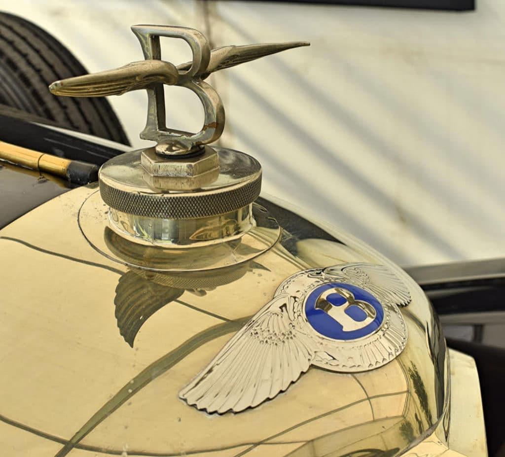 1929 Bentley mascot on a 6 1/2-litre model