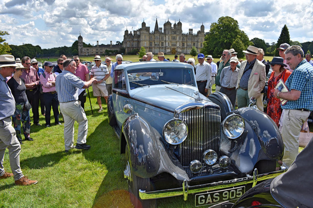 Rare 1938 Bentley 4 1/4-litre Fixed-head Coupe by De Vilars grabs lots of attention (photo: Richard Fenner)