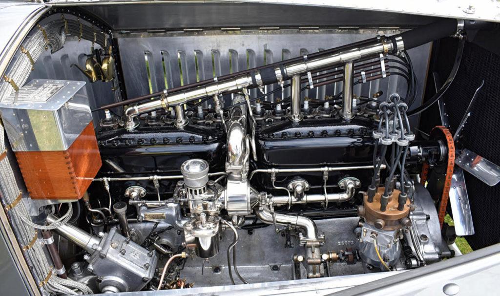 The essentially Edwardian Rolls-Royce Silver Ghost engine used two cylinder blocks of three cylinders each (photo: Richard Fenner)