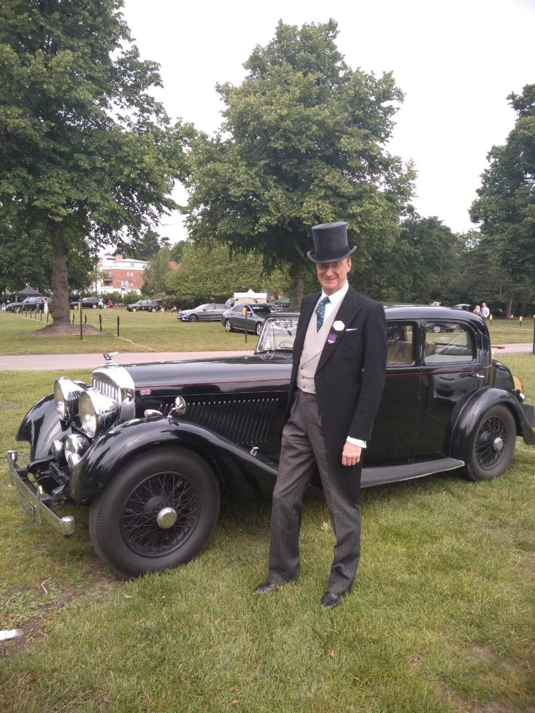 Bentley style at Ascot in 2019