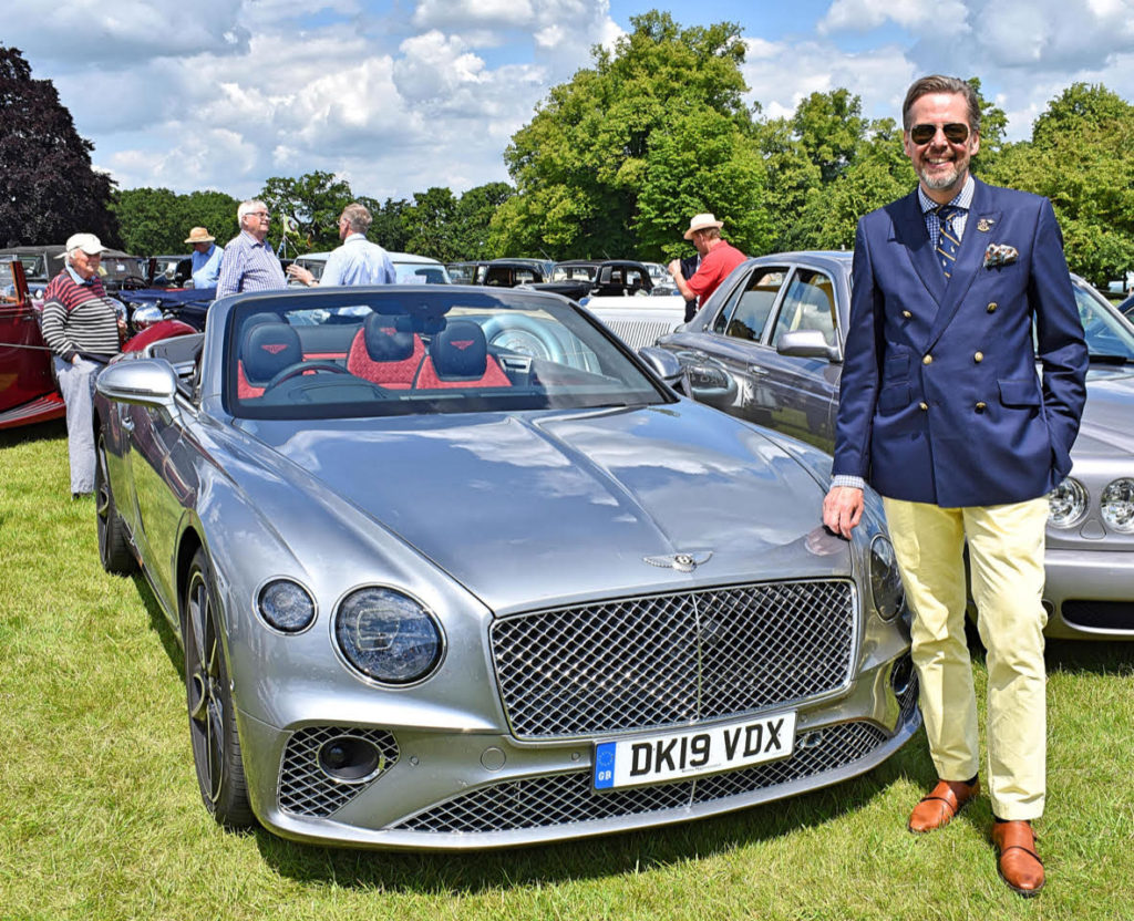 Stefan Sielaff, Director of Design at Bentley Motors
