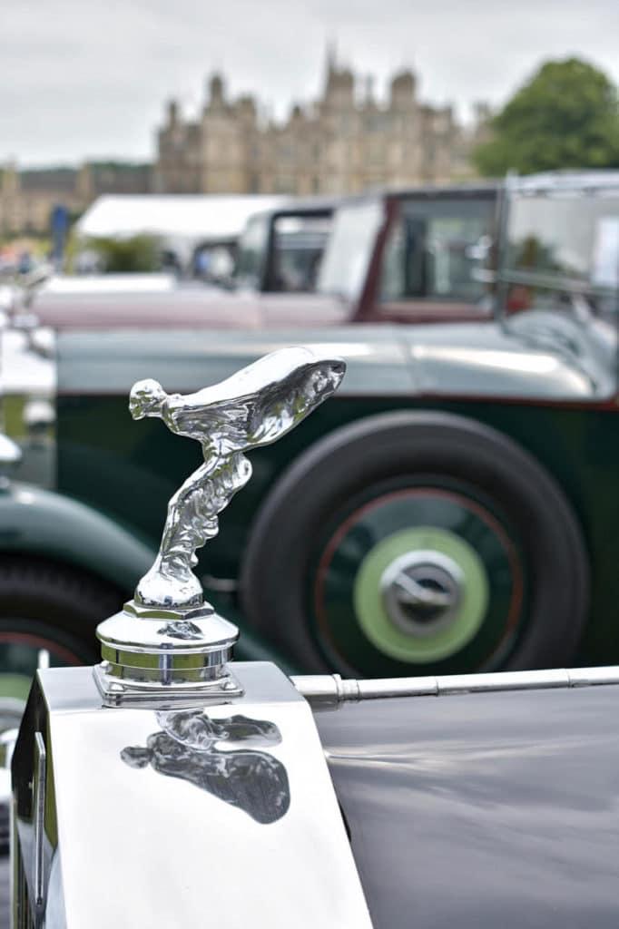Spirit of Ecstasy mascot defines a Rolls-Royce
