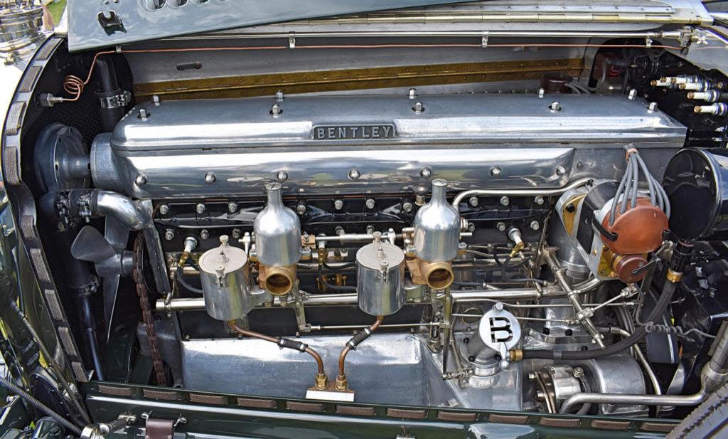 Essentially Edwardian Rolls-Royce Silver Ghost engine used two cylinder blocks of three cylinders each (photo: Richard Fenner)