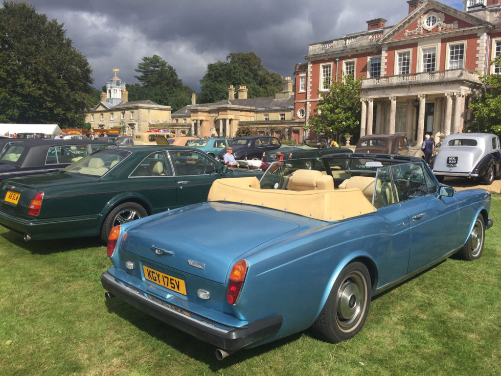 The RREC South of England Rally 29th August 2020 was a great success. Despite a strong breeze and occasional dark clouds no rain troubled the two smart drophead coupes