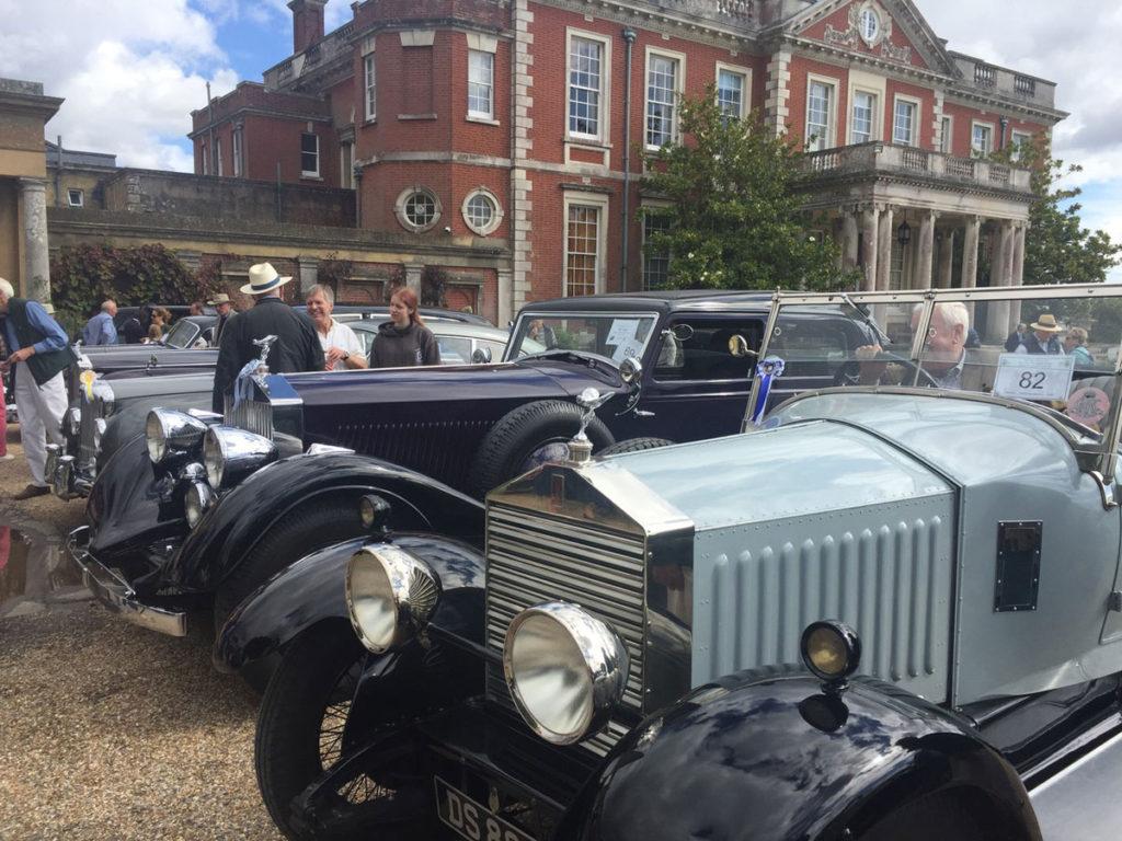Contrasting prewar styles of coachwork on Rolls-Royce chassis of the Twenties and Thirties